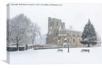 Priory Church Dunstable, Canvas Print