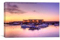 Lyme Regis Sunrise, Canvas Print
