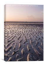 Isle of Wight Sunset, Canvas Print