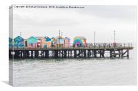 Southend Pier, Canvas Print