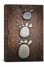 3 Steps to ...., Canvas Print