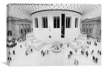 The British Museum, Canvas Print