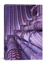 A Natural Arch, Canvas Print
