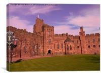 Peckforton Castle, Canvas Print