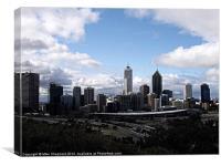 Perth Skyline, Canvas Print