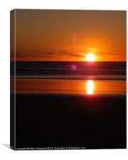 Sunrise Through A Lens., Canvas Print