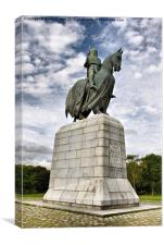 Robert The Bruce, Canvas Print