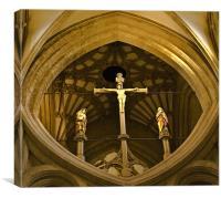 Jesus on the cross, Canvas Print