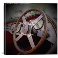 Old Time Car, Canvas Print