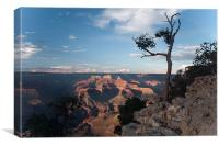 Grand Canyon view, Canvas Print
