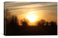 Rise and Shine Limpenhoe..., Canvas Print