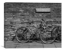 Bicycle, Cambridge, Canvas Print