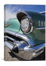 57 Chevy Bel Air, Canvas Print
