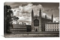 Kings College chapel, Cambridge, Canvas Print