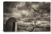 Spitfires, Canvas Print