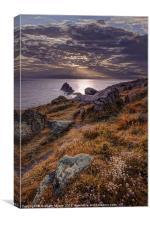 Lands End, Canvas Print
