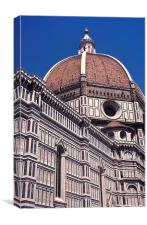 Il Duomo, Canvas Print