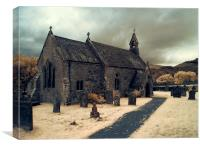 St Begas Church, Bassenthwaite, Canvas Print