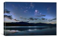 Coniston Water, Canvas Print