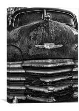 48 Chevy, Canvas Print