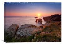 Lands End sunset, Canvas Print