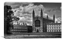 Kings College Chapel, Canvas Print