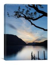 Crummock Water, Canvas Print