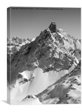 Aiguille du Fruit, Canvas Print