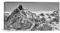 Courchevel Pan, Canvas Print