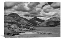 Wastwater and Great Gable, Canvas Print