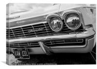 Chevrolet Impala, Canvas Print