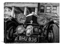 Blower Bentley, Canvas Print