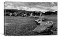 Castlerigg stone circle, Canvas Print