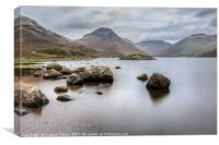 Wastwater long exposure, Canvas Print