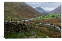 Wastwater from Great Gable, Canvas Print