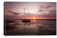 Another Meols sunset, Canvas Print