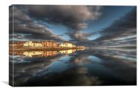 West Kirby reflections, Canvas Print