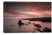 An Anglesey sunset, Canvas Print