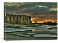 Castle Sunset, Canvas Print