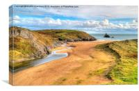 Broadhaven, Canvas Print