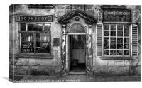 Corrans Bookshop, Canvas Print