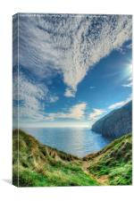 Portrait of Pendine Points, Canvas Print