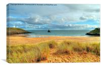 Broad Haven South, Pembrokeshire, Canvas Print