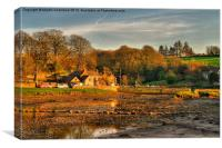 Cresselly Arms, Cresswell Quay, Canvas Print