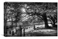 Grave Delight, Canvas Print