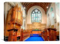St Marys Church, Pembroke, Canvas Print