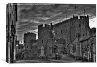 Pembroke Castle at Dusk, Canvas Print