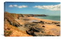 Marloes Sands, Pembrokeshire, Canvas Print