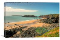 Marloes Sands Pembrokeshire, Canvas Print