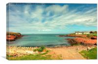 St Brides Haven, Pembrokeshire, Canvas Print